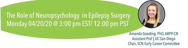 The role of neuropsychology in epilepsy surgery with Dr. Amanda Gooding