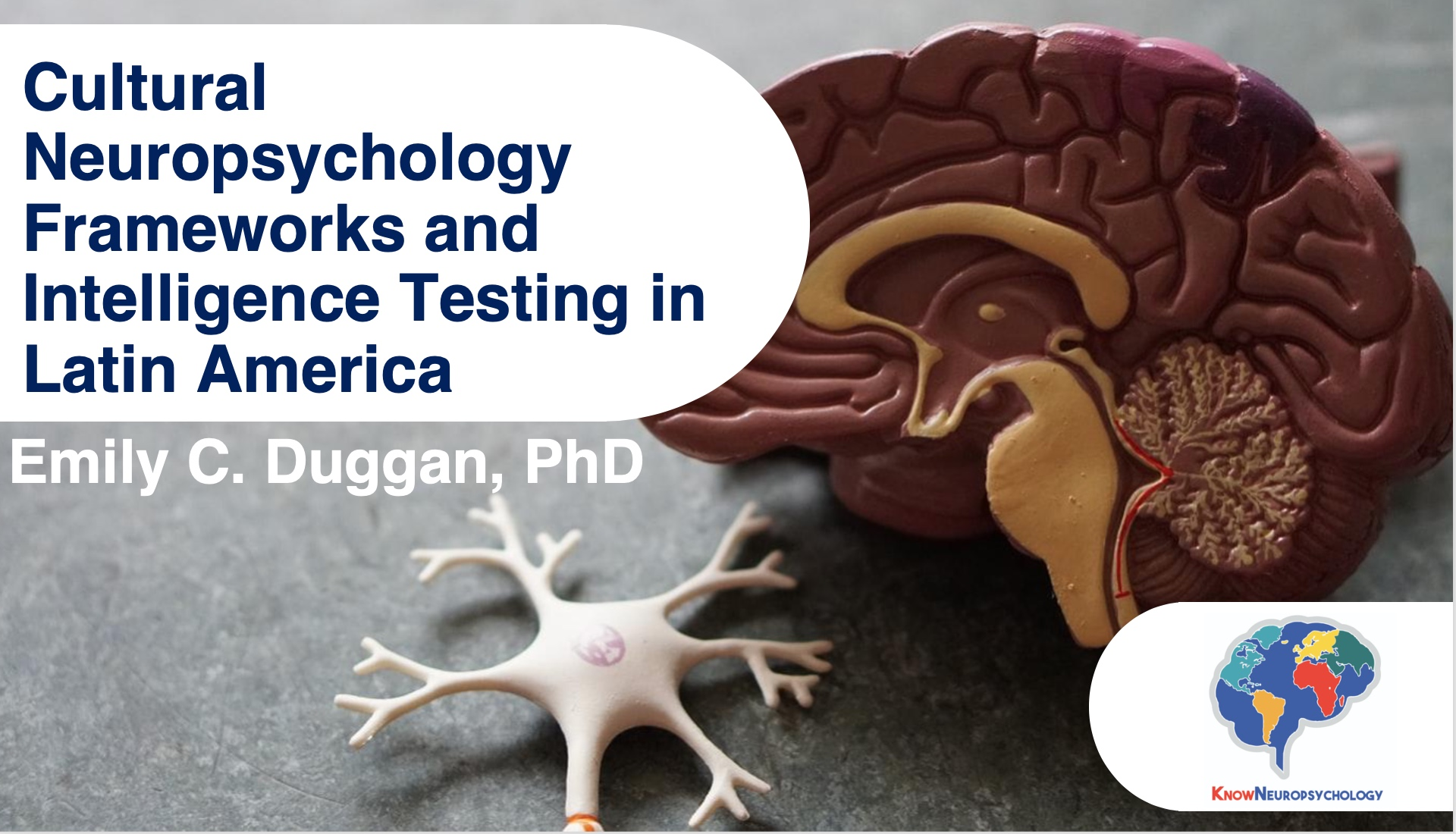 Cultural neuropsychology frameworks and intelligence testing in Latin American lecture recording