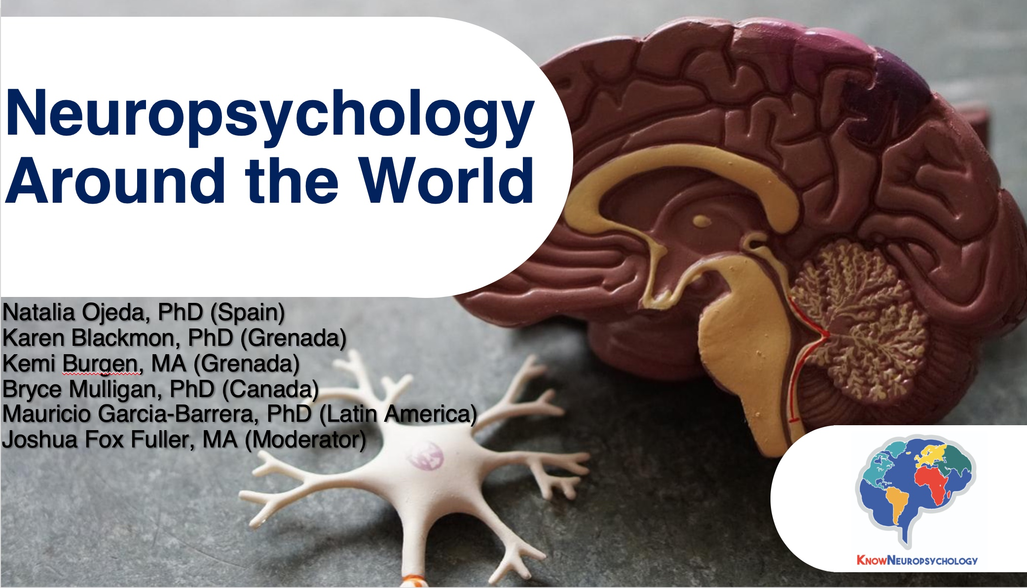 neuropsychology around the world lecture recording