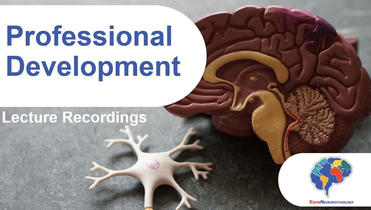 Professional Development Lecture Recordings