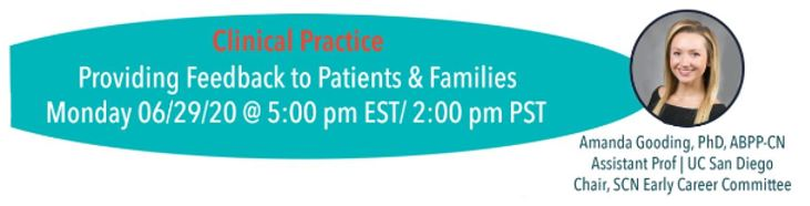 Providing feedback to patients and families with Dr. Amanda Gooding