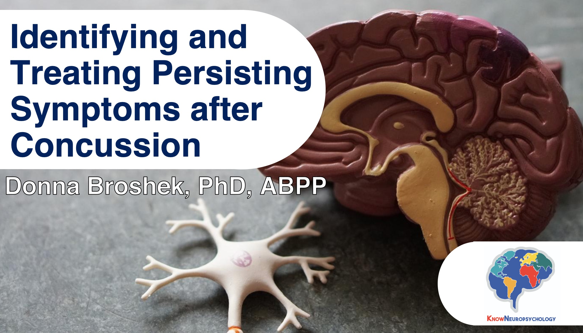 Identifying and treating persisting symptoms after concussion by Dr. Donna Broshek