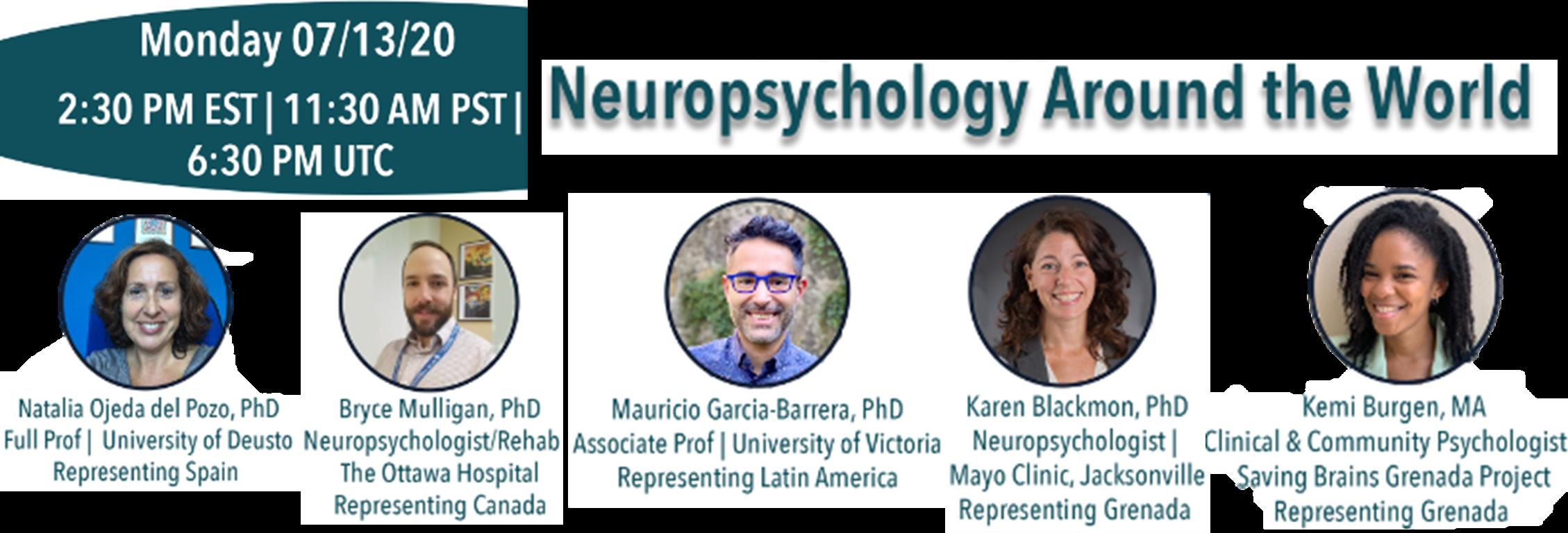 Neuropsychology Around the World