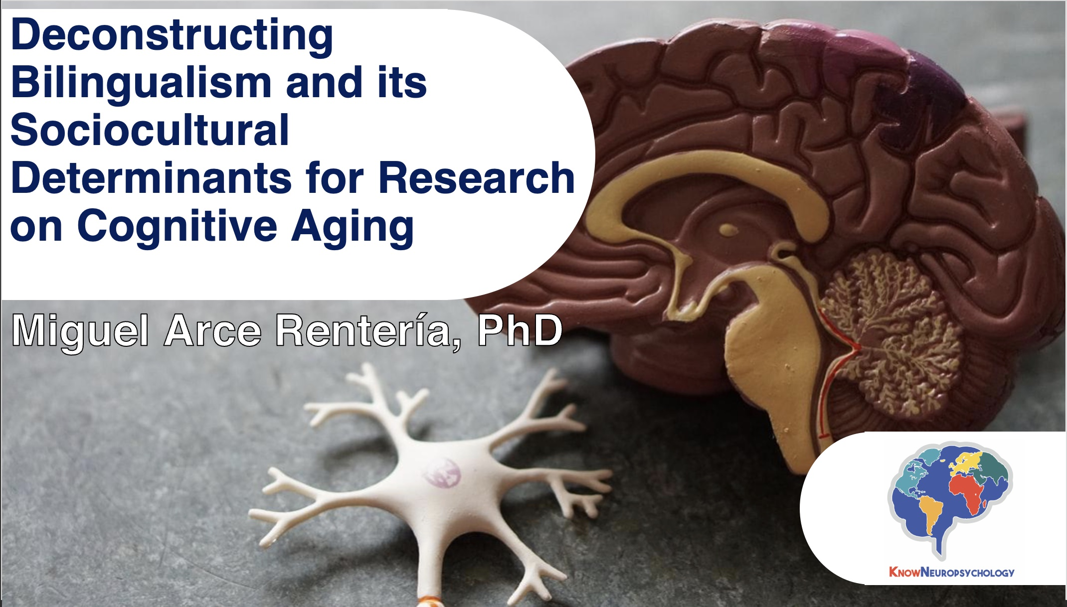 Deconstructing bilingualism and its sociocultural determinants for research on cognitive aging with Dr. Miguel Arce Rentería
