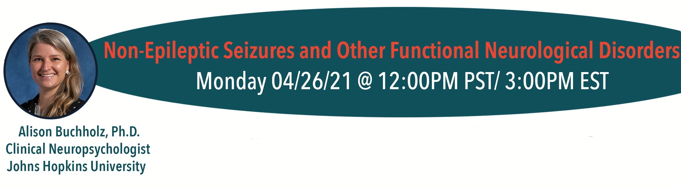 Non-epileptic seizures and other functional neurological disorders with Dr. Alison Buchholz