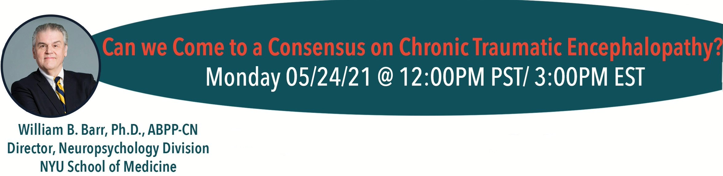 Can we come to a consensus on chronic traumatic encephalopathy? with Dr. William Barr