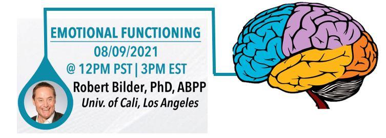Neuroanatomy of Emotional Functioning with Dr. Robert Bilder